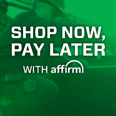 Shop now, pay later with Affirm.