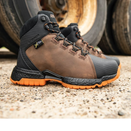 A pair of men's Hytest boots.