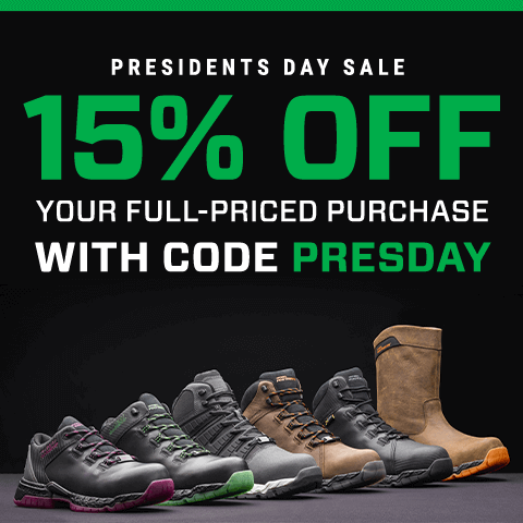 Presidents day sale. 15% Off your full-priced purchase with code presday.