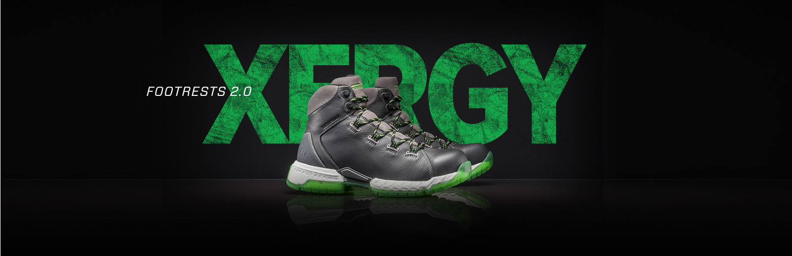 Footrests 2.0 Xergy shoes